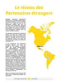 chambre commerce internationale bretagne commerce international rapport d activité 2015 ld