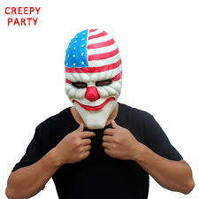 payday 2 halloween masks payday 2 halloween resin mask the heist dallas u2013 cheapsense