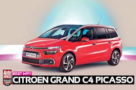 mpv car 2017 mpv of the year 2017 citroen grand c4 picasso new car awards