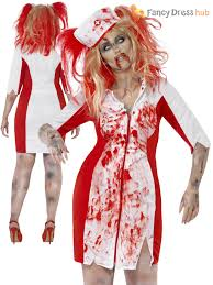 ladies plus size halloween costume zombie nurse schoolgirl vamp