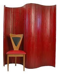 1950s mid century modern room divider paravent quintessentia