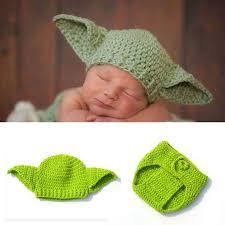 Yoda Halloween Costume Toddler Aliexpress Buy Star Wars Yoda Costume Crochet Baby