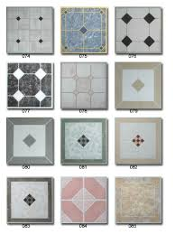 self adhesive vinyl floor tile