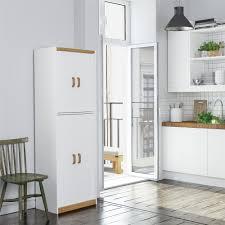 kitchen pantry cabinet oak ameriwood home 4506 deluxe pantry white oak walmart