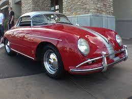 Porsche 1954 1958 Porsche Speedster Hardtop Convertible At Cars And Coffee