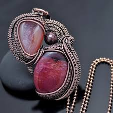 copper jewelry necklace images Wire wrap necklaces and pendants nicole hanna jewelry jpg