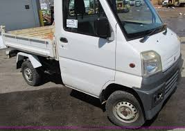 mitsubishi minicab truck 1999 mitsubishi minicab truck with dump bed item e5072 s
