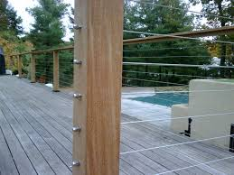 wire deck railing systems wire deck railing for balcony u2013 the