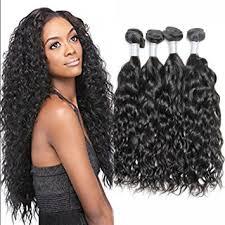 good wet and wavy human hair amazon com 7a mink brazilian virgin hair wet and wavy 4 bundles