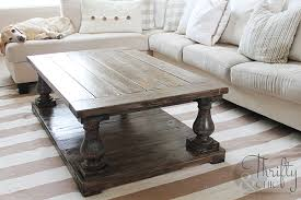 Balustrade Coffee Table Stylish Diy Coffee Tables With Farmhouse Table Grows
