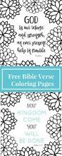 bible story coloring sheets in spanish flower pages verse free