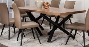 black contemporary dining table putty and black modern 5 piece dining set empire rc willey