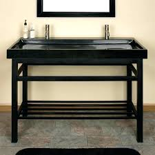 sink with metal legs double sink metal legs bathroom sinks art console tinyrx co