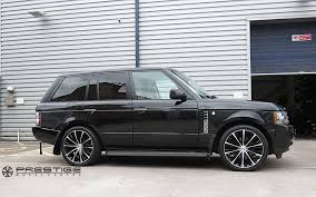 range rover custom wheels range rover vogue on lenso esa concave alloy wheels in 22