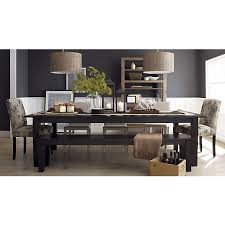 Crate And Barrel Dining Table Basque Java 104