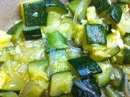 comment cuisiner une courgette recette courgette à l étouffée
