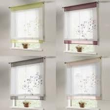 rideau store cuisine transparent cuisine salle de bains balcon rideau fenêtre relevables