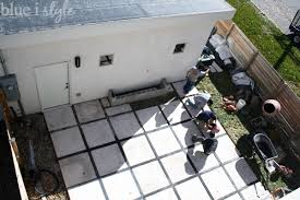 Concrete Pavers For Patio Outdoor Style Backyard Evolution Part 2 Modern Patio