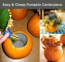 cheap centerpiece ideas how to make a pumpkin centerpiece crafts
