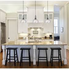 kitchen design hardwood floor and glass pendant lighting amazing
