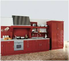 Ikea Metal Kitchen Cabinets Kitchen Glossy Red Kitchen Cabinets Image Of Old Red Kitchen
