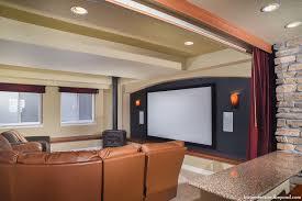 green mountain walkout basement remodeling by basements u0026 beyond