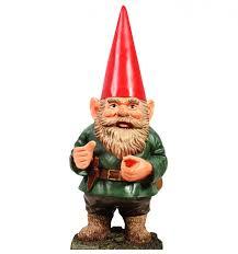 garden gnome cardboard standup dream scenes