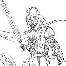 Star Wars Coloring Pages Hellokids Com Darth Vader Coloring Pages