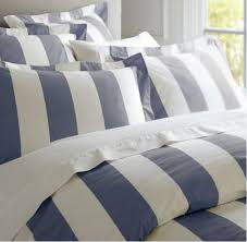 rans oxford stripe quilt cover set manchester madness