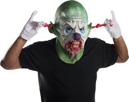 saw pig mask spirit halloween clown mask