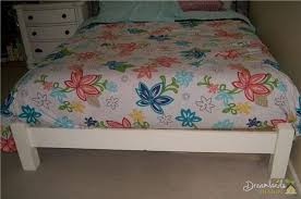 diy bed frame ideas how to build a wooden bed frame step by step
