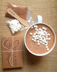 hot cocoa wedding favors unique hot chocolate wedding favors hot cocoa