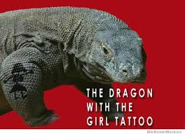 Tattoo Girl Meme - the dragon with the girl tattoo weknowmemes