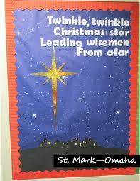 sunday bulletin board christmas and epiphany design