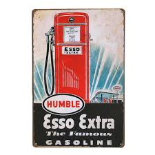 drop shipping home decor gas station decorative signs 20 30cm vintage retro metal tin sign