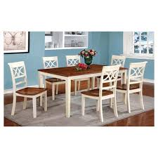 country style dining table iohomes 7pc country style dining table set wood vintage white and