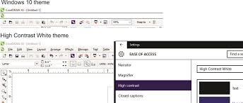 corel draw x4 error reading file coreldraw menu bar not visible after upgrade to windows 10 font