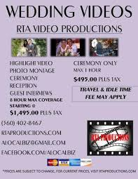 Wedding Videography Prices Rta Video U0026 Photo Productions Home