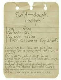 salt dough recipe for ornaments infant rm salt