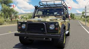 land rover 1997 land rover defender 90 1997 modern offroad bodykit forza