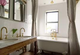 Antique Brass Shower Curtain Rod Bathroom Wondrous Clawfoot Bathtub Shower Curtain Inspirations