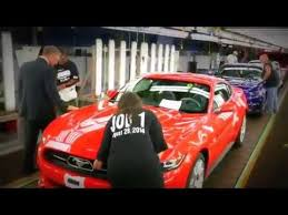 ford mustang assembly plant tour car factories building the 2016 ford mustang at flat rock