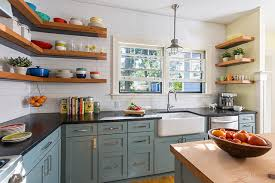 Open Shelves Kitchen Design Ideas by Kitchen Shelves Amber Interiors Before After Client Z To The E To