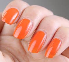 top 40 beautiful orange nail designs