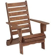 sonoma dark natural folding adirondack chair u2013 goodglance