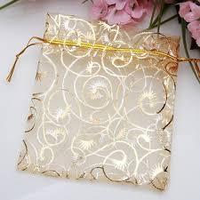 organza drawstring bags 100pcs chagne eyelash organza drawstring pouches jewelry party