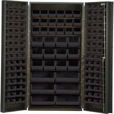 Storage Cabinet Quantum Storage Cabinet With 132 Bins U2014 36in X 24in X 72in Size