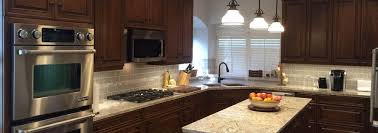 gray walls with stained kitchen cabinets custom cherry wood cabinets in friendship tx bay area kitchens