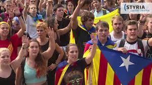 tausende protestieren in katalanischen städten gegen polizeigewalt