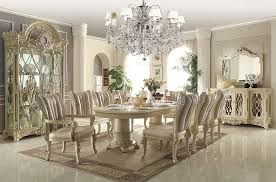 Round Formal Dining Room Tables Traditional Luxury Dining Table In Beige Hd085 Classic Dining